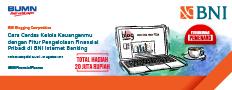 Pengumuman Pemenang BNI Blogging. Cara Cerdas Kelola Keuanganmu dengan Fitur Pengelolaan Finansial Pribadi di BNI Internet Banking