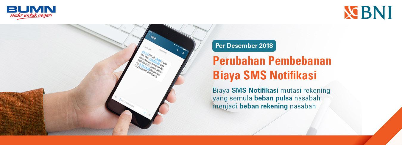 Informasi BNI SMS Notifikasi
