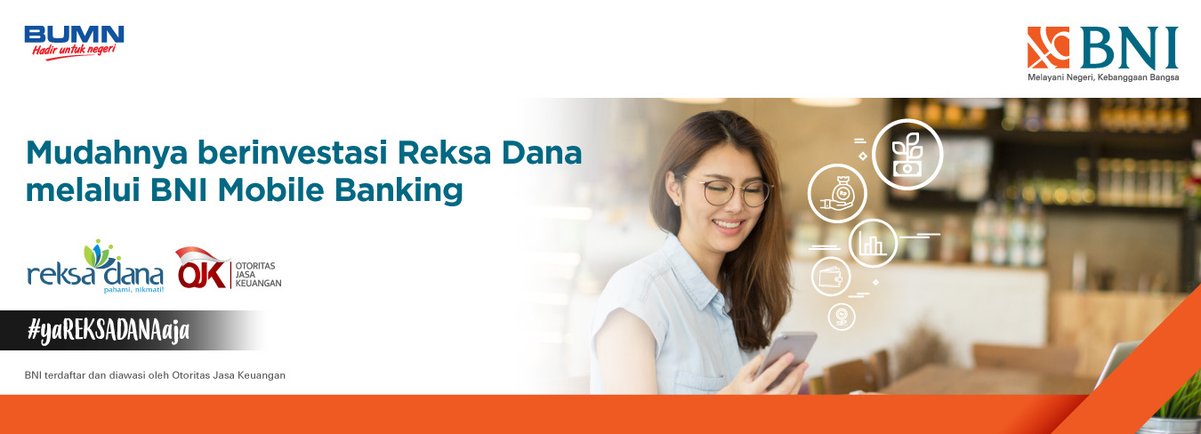 Top Up Reksa Dana via BNI Mobile Banking