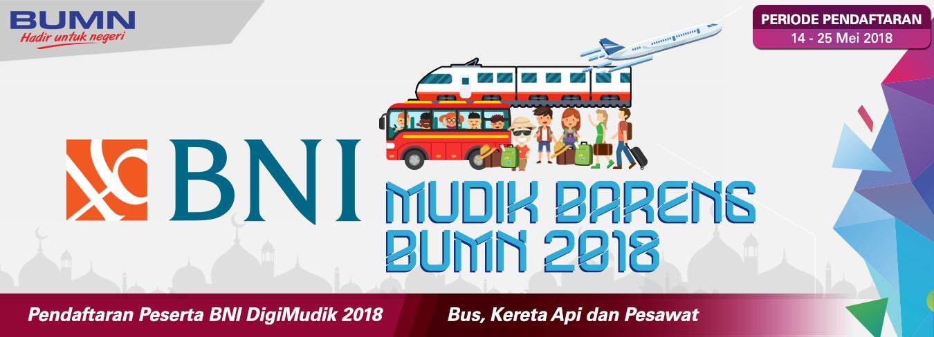 BNI Mudik Bareng BUMN 2018