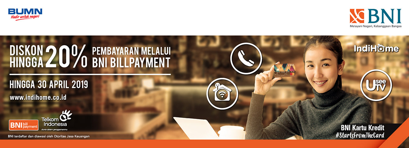 Program Bill Payment BNI - Telkom IndiHome