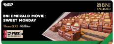 BNI Emerald Movie : Sweet Monday