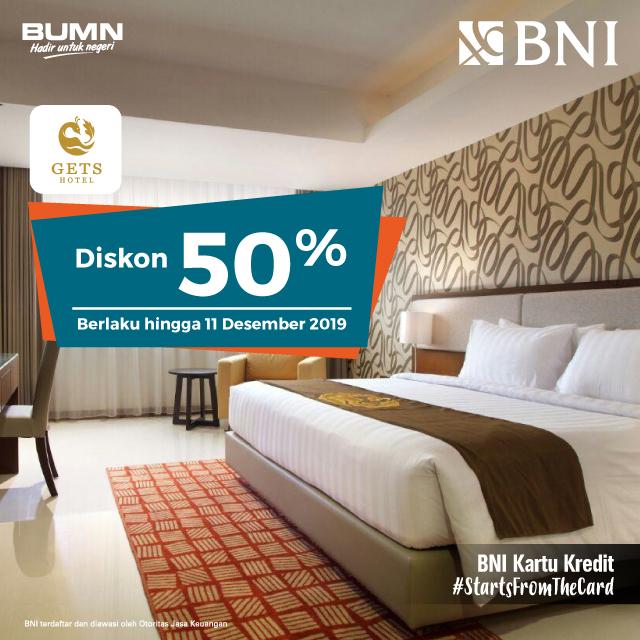 Diskon 50% di Gets Hotel, Semarang