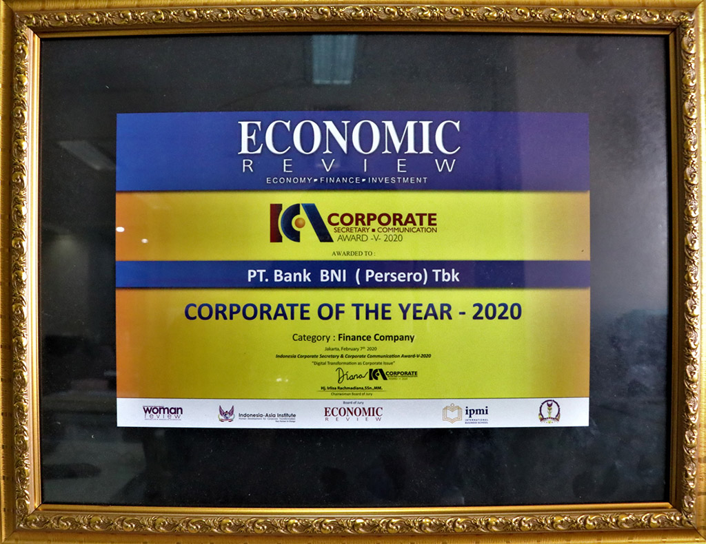 Corporate Of The Year 2020