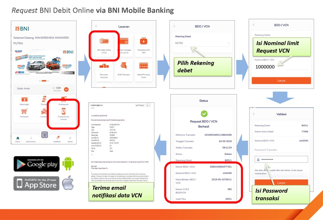 BNI Mobile Banking Android & iOS